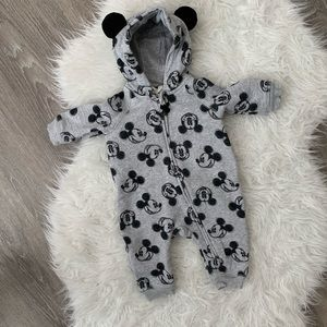H&M Baby Mickey Mouse Hooded Zip Up